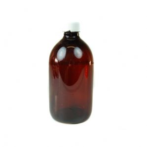 250ml Brown Plastic Bottle